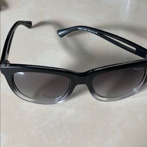 Ralph Lauren shades-black and clear. Never worn.